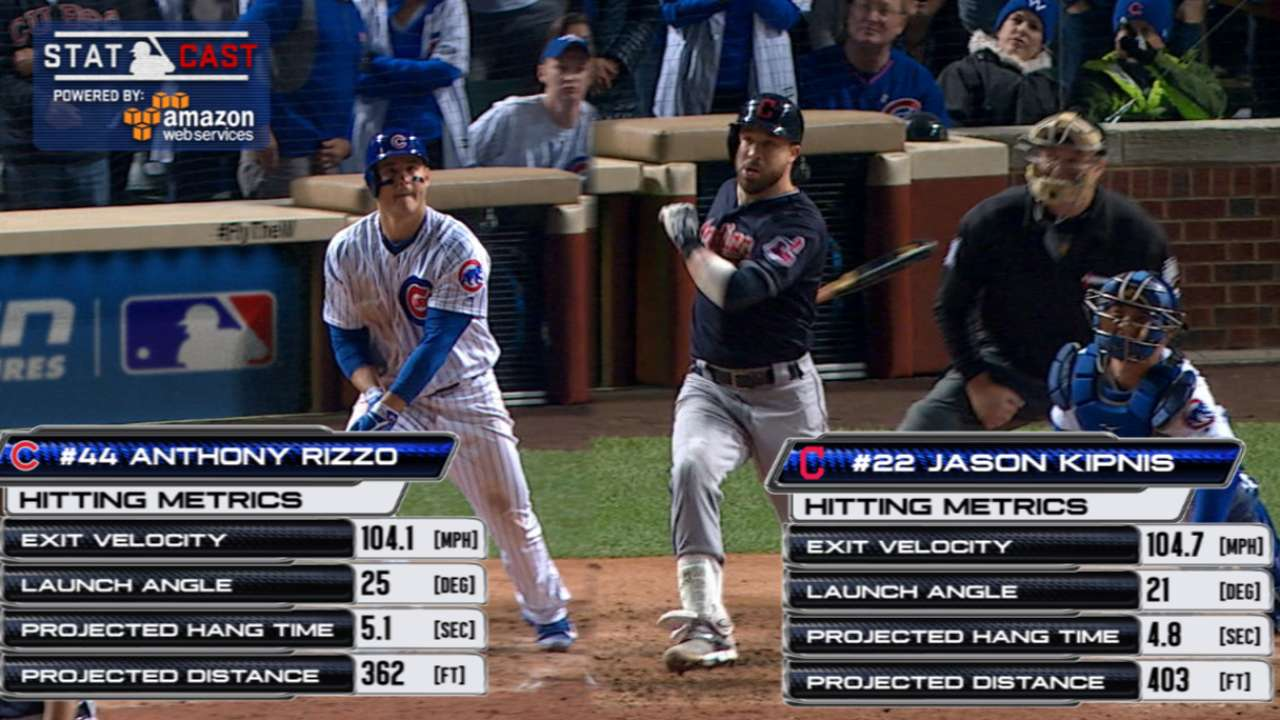 Statcast of the Day: Wind costs Rizzo a homer