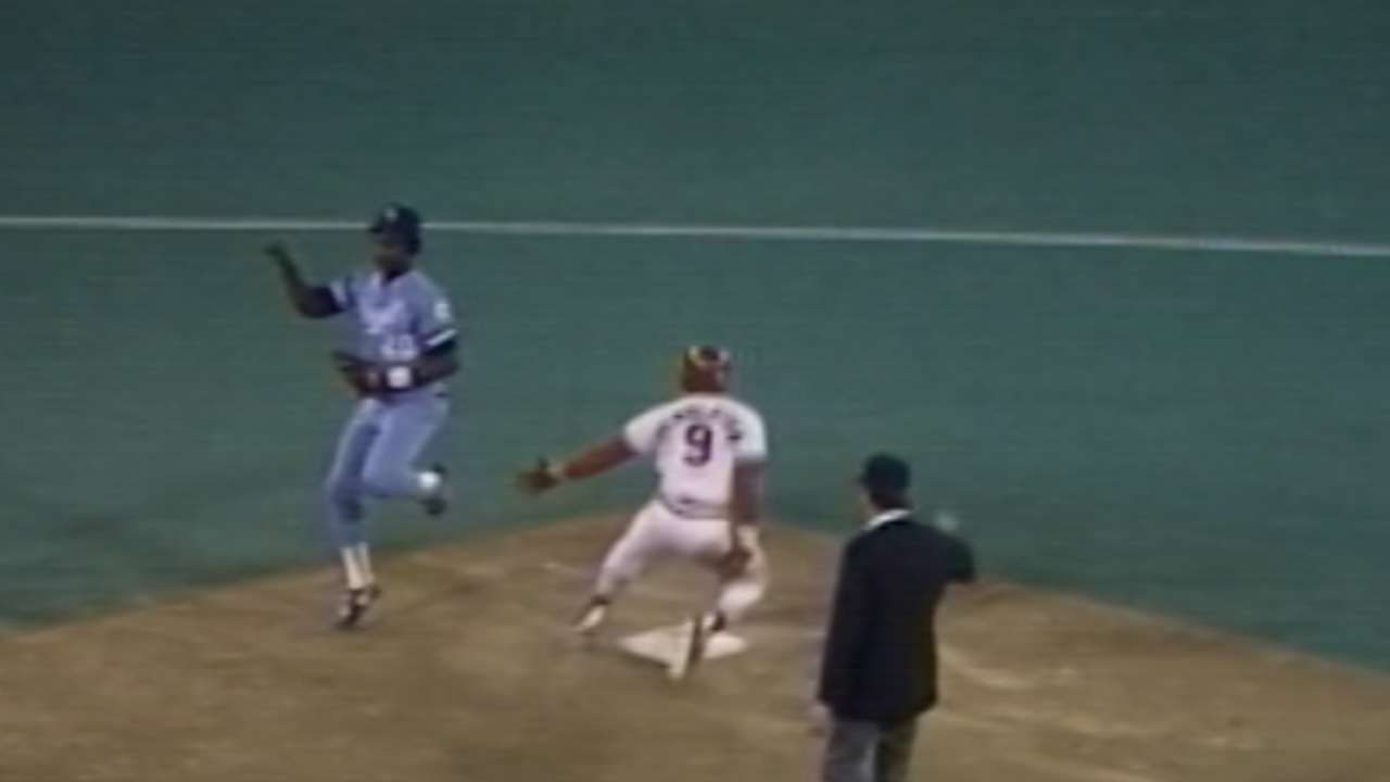 Royals take 1985 WS Game 5