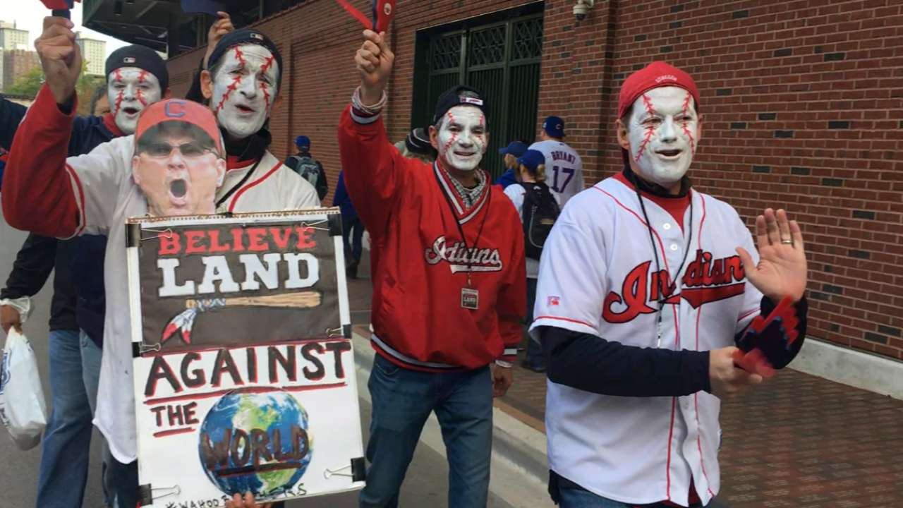 Indians fans excited for Game 5