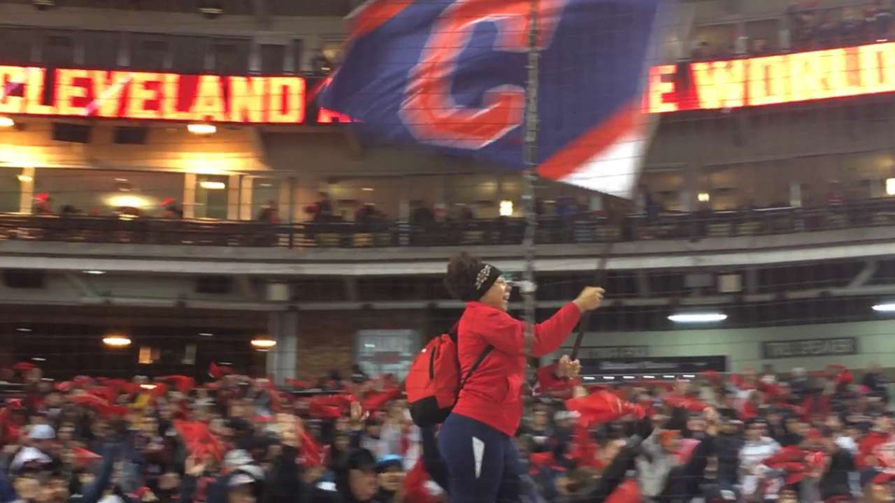 Fans optimistic as World Series returns home