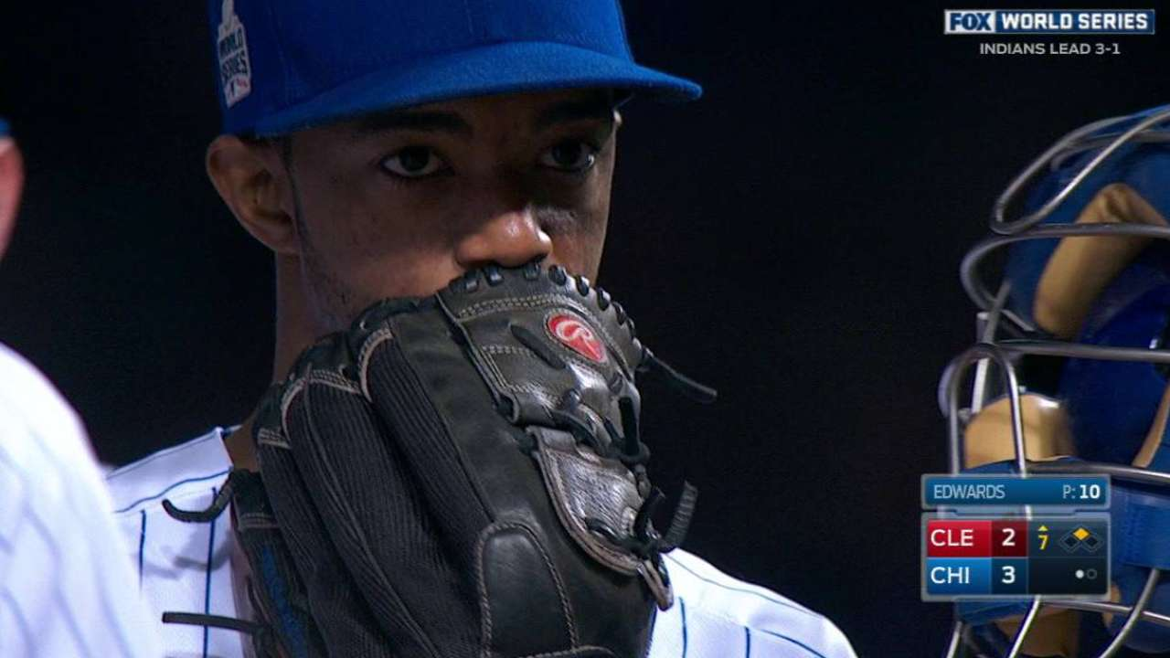 Maddon: Edwards' outing key in Game 5, and beyond