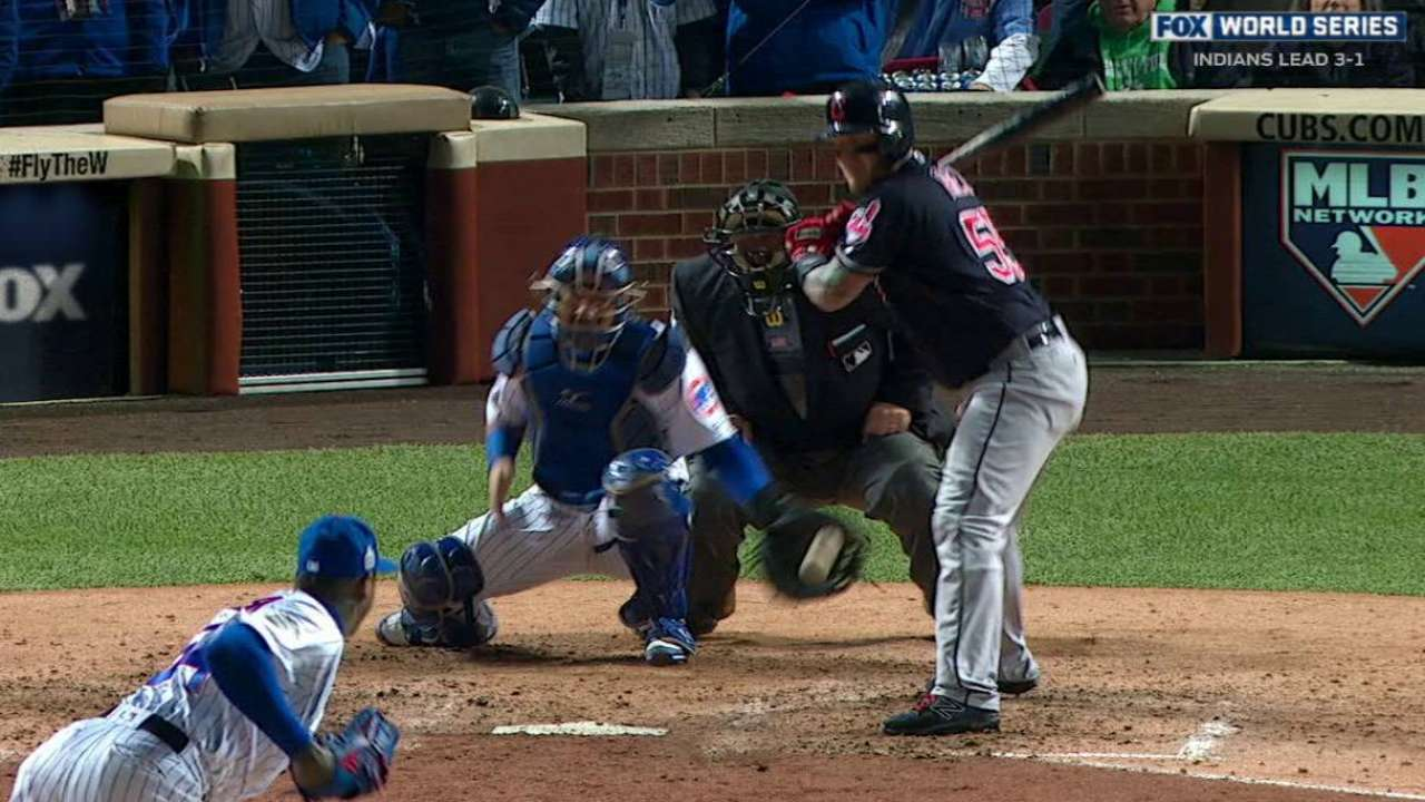 Contreras' incredible reflexes