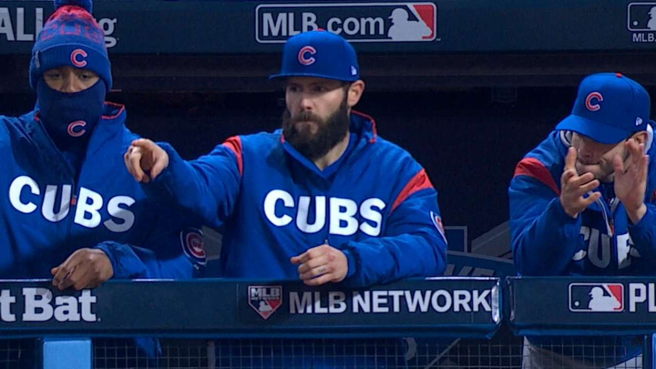 Arrieta on approach for Game 6