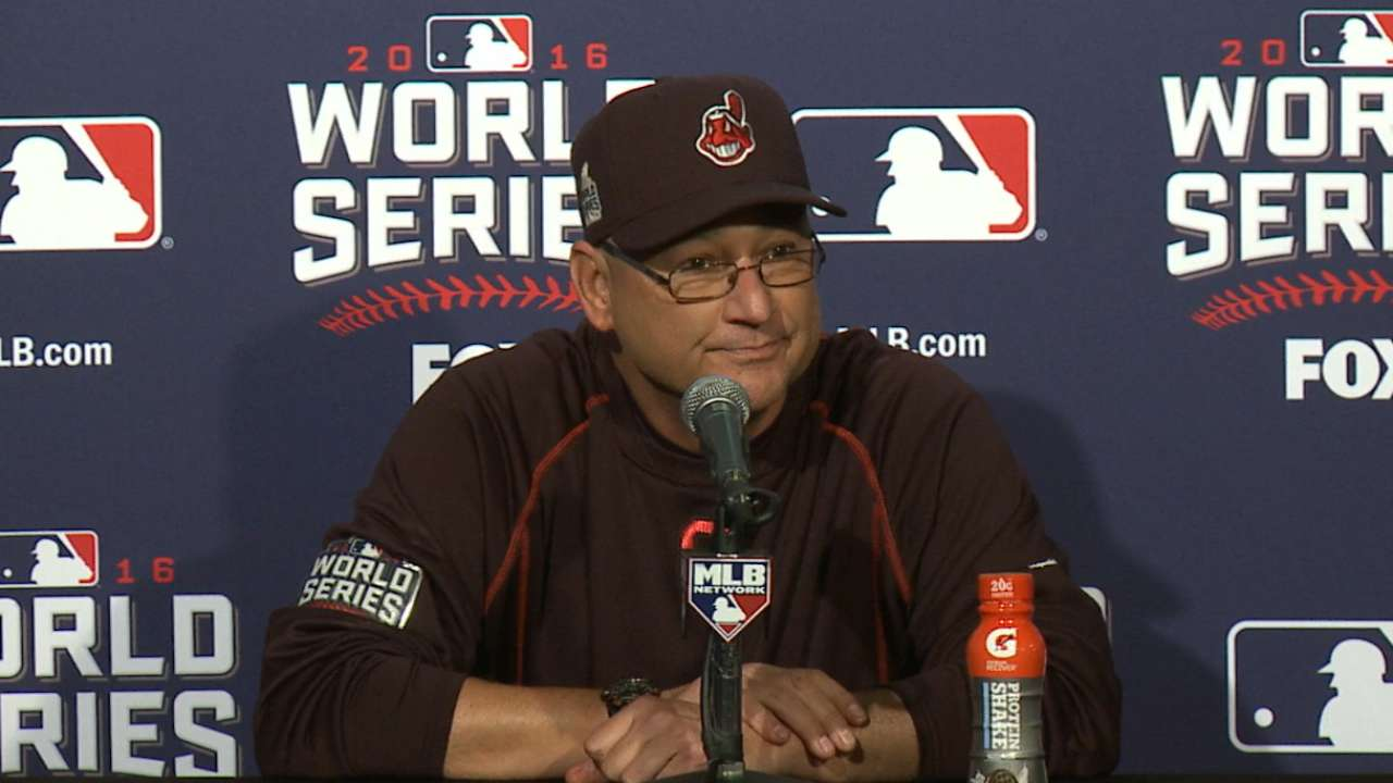 Francona on Game 5 loss to Cubs