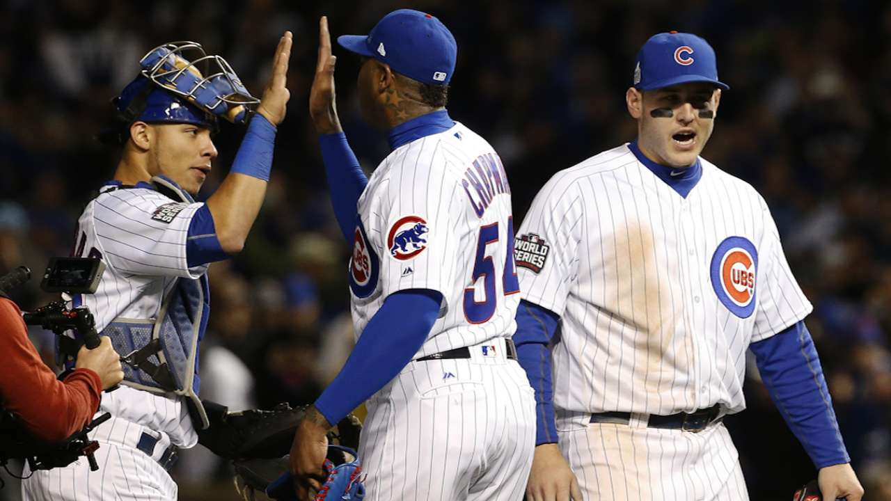 From down 3-1, Cubs working on more history