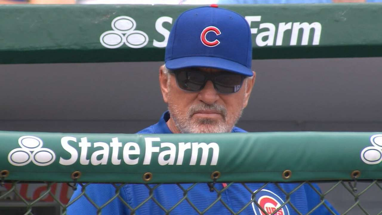 Maddon on Indians' bullpen