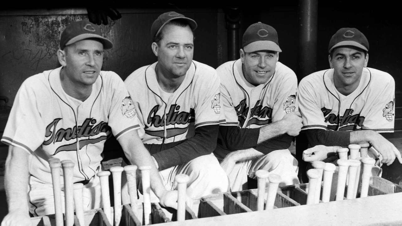Tribe hosts last living member of '48 champs
