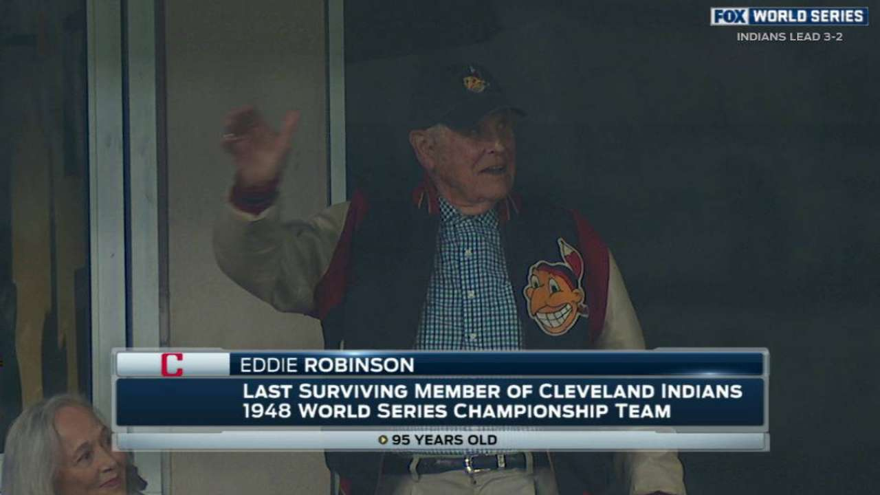 With Tribe on verge, Robinson reflects on '48