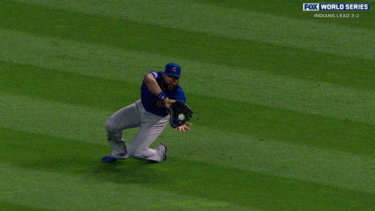 Heyward's diving catch