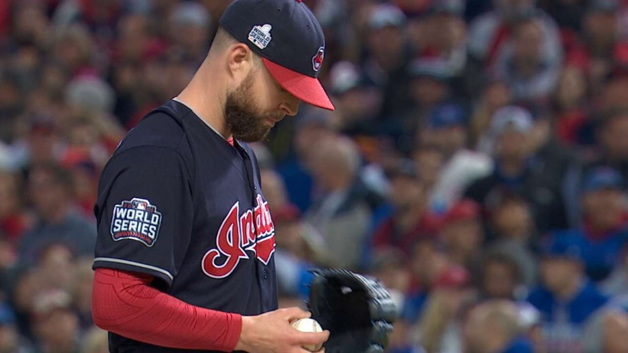Francona on Kluber in Gm 7