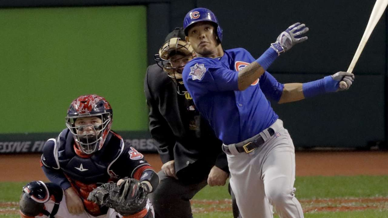 Nov. 1 Addison Russell postgame interview