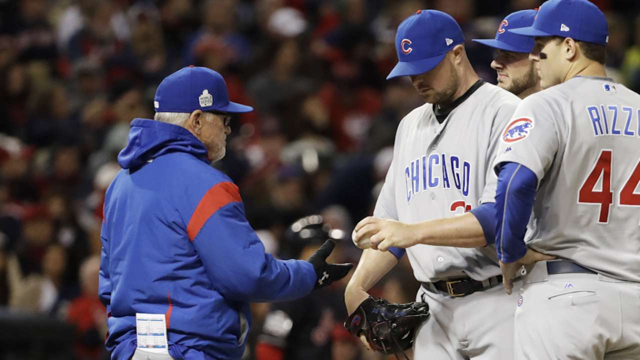Crazy idea for Maddon: Start Lester in Game 7