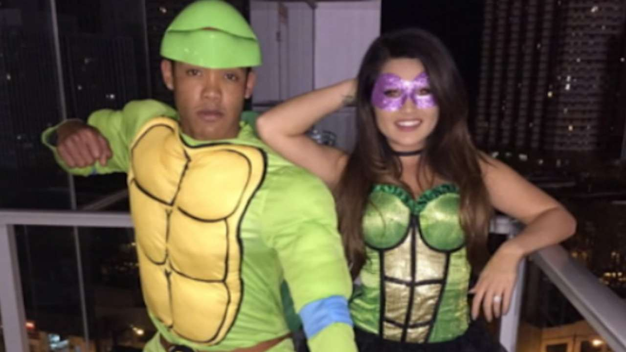 Russell on Halloween costume