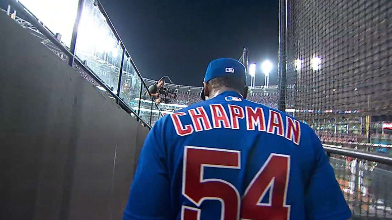 Chapman helps Cubs force Game 7