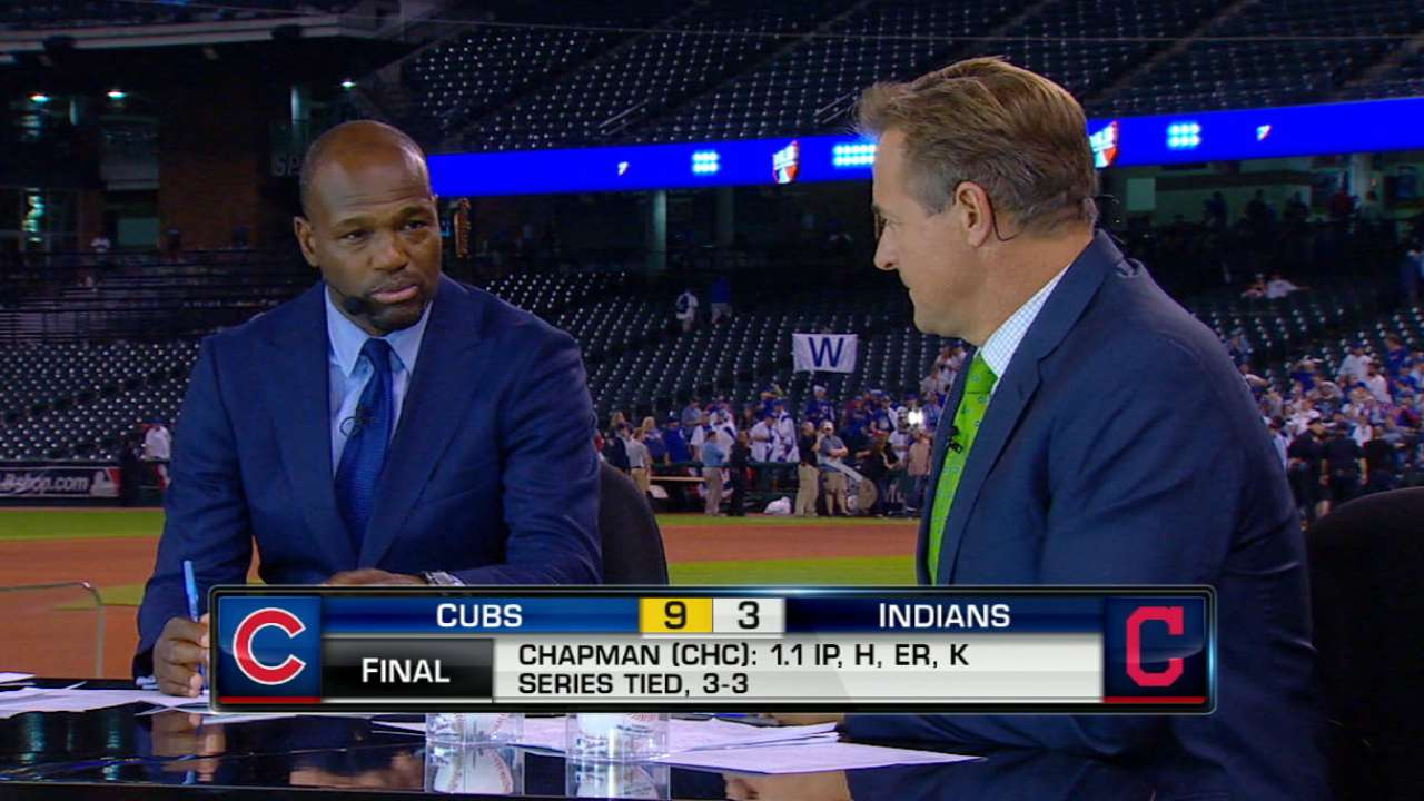 MLB Tonight: Chapman's usage