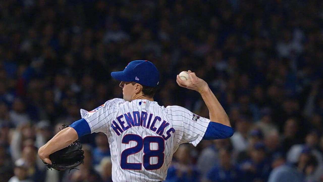 Living the dream: Hendricks takes hill for Game 7