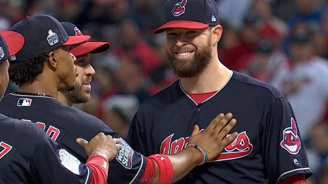 Kluber hopes to join elite Series company