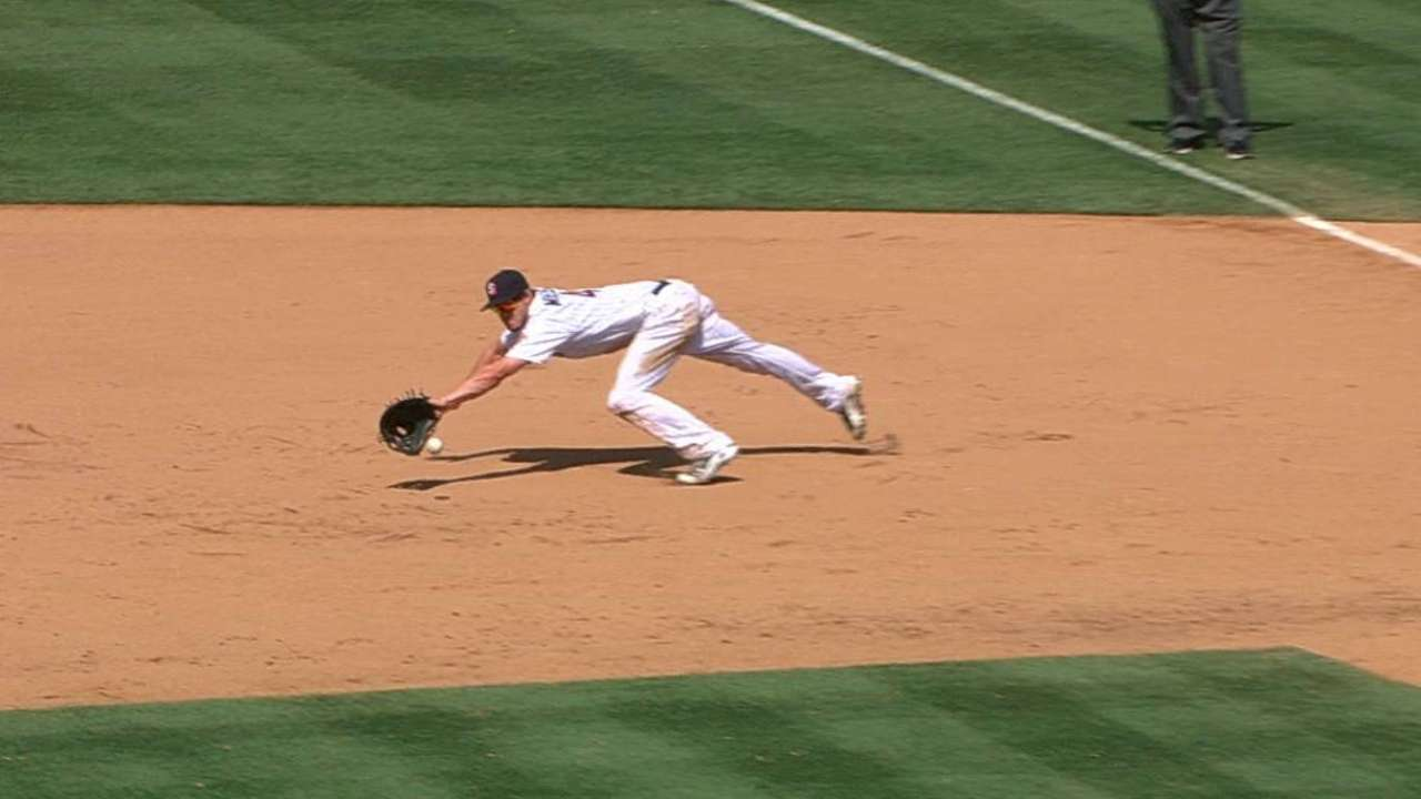 Myers' diving stop
