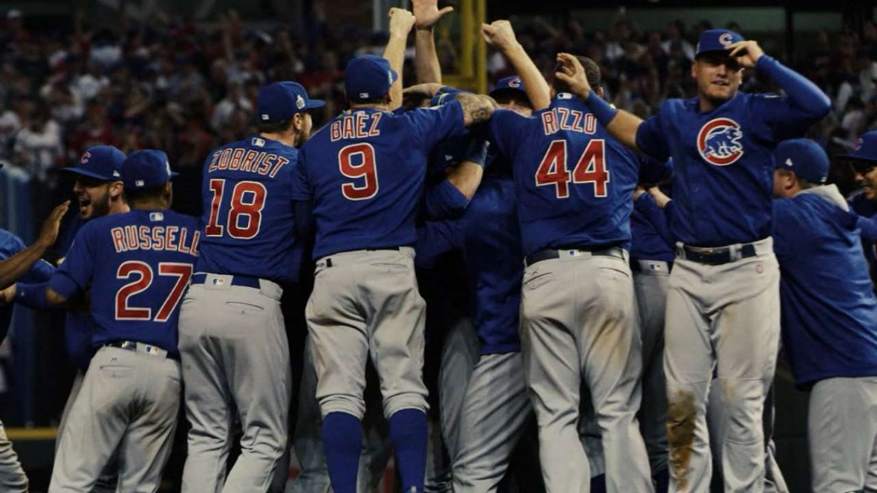 Cubs' path to championship