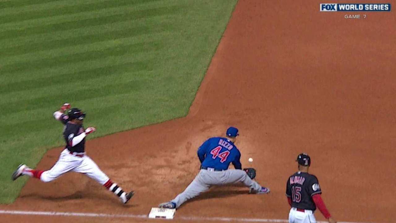 Hendricks induces double play
