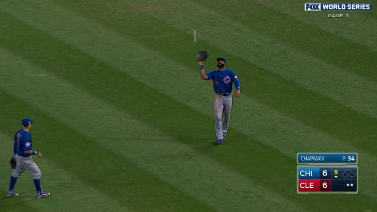 Chapman down, but Ross, Cubs lift him up