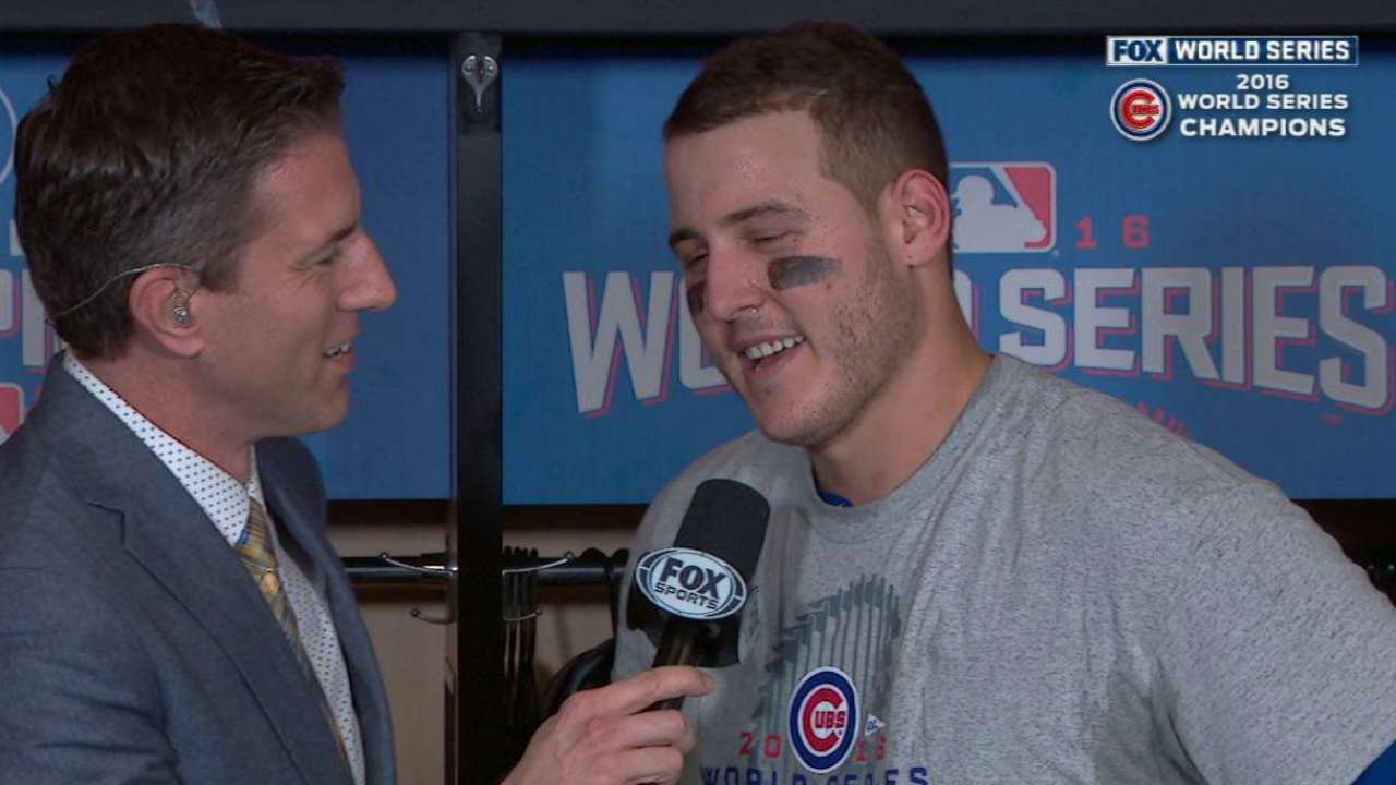Rizzo on championship win