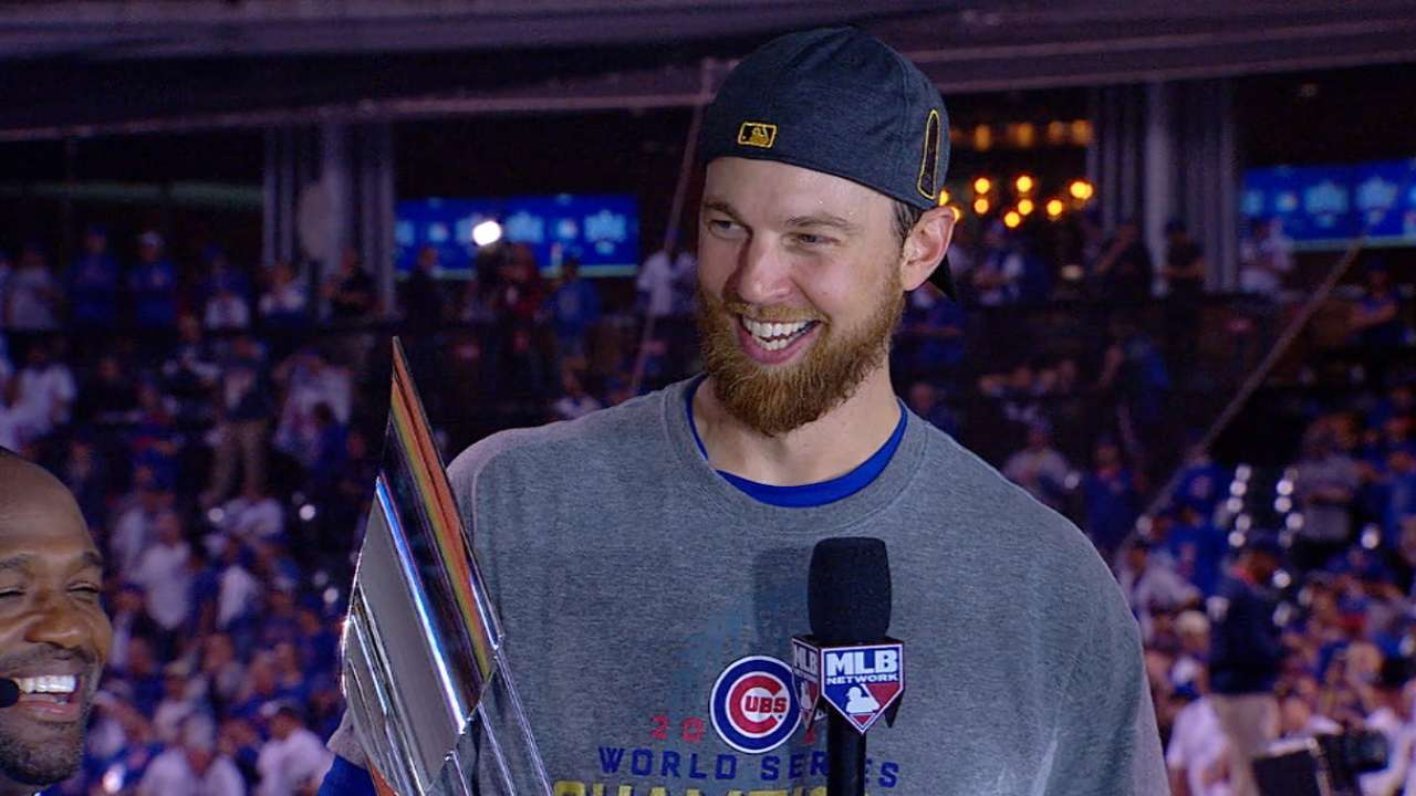 Zobrist on winning WS MVP award