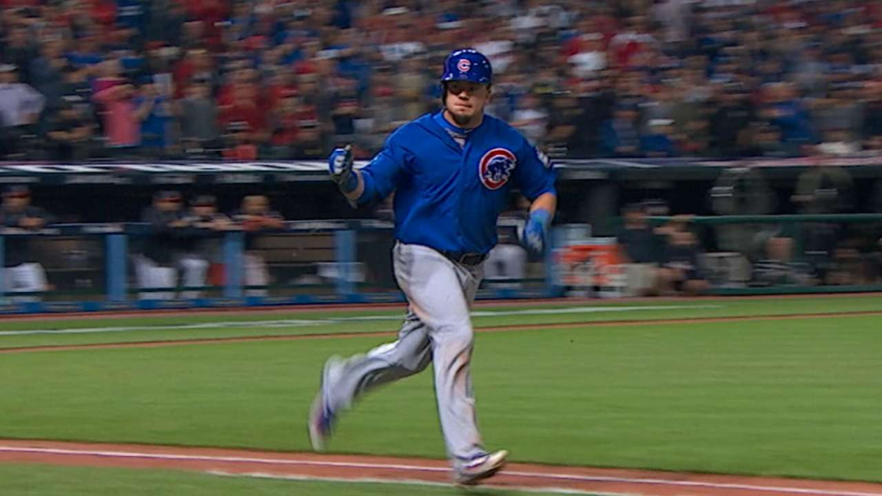 Schwarber's three-hit Game 7