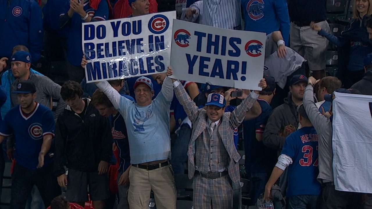 Wrigley East? Cubs' fans show support in Cleveland