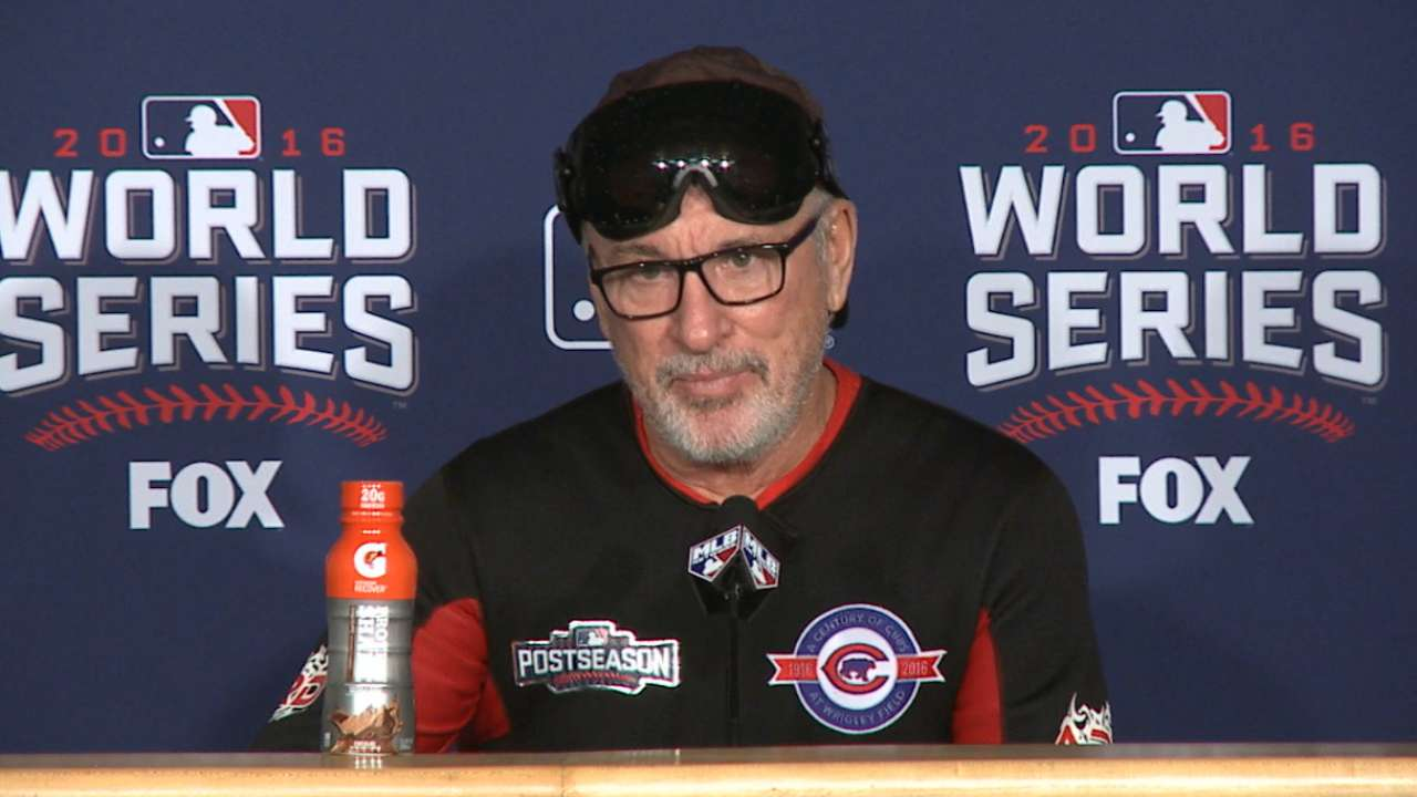Maddon on winning World Series