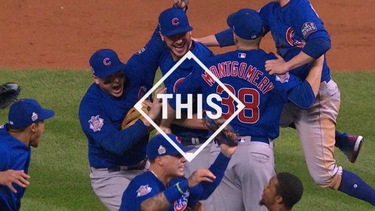 #THIS Cubs win! Cubs win!