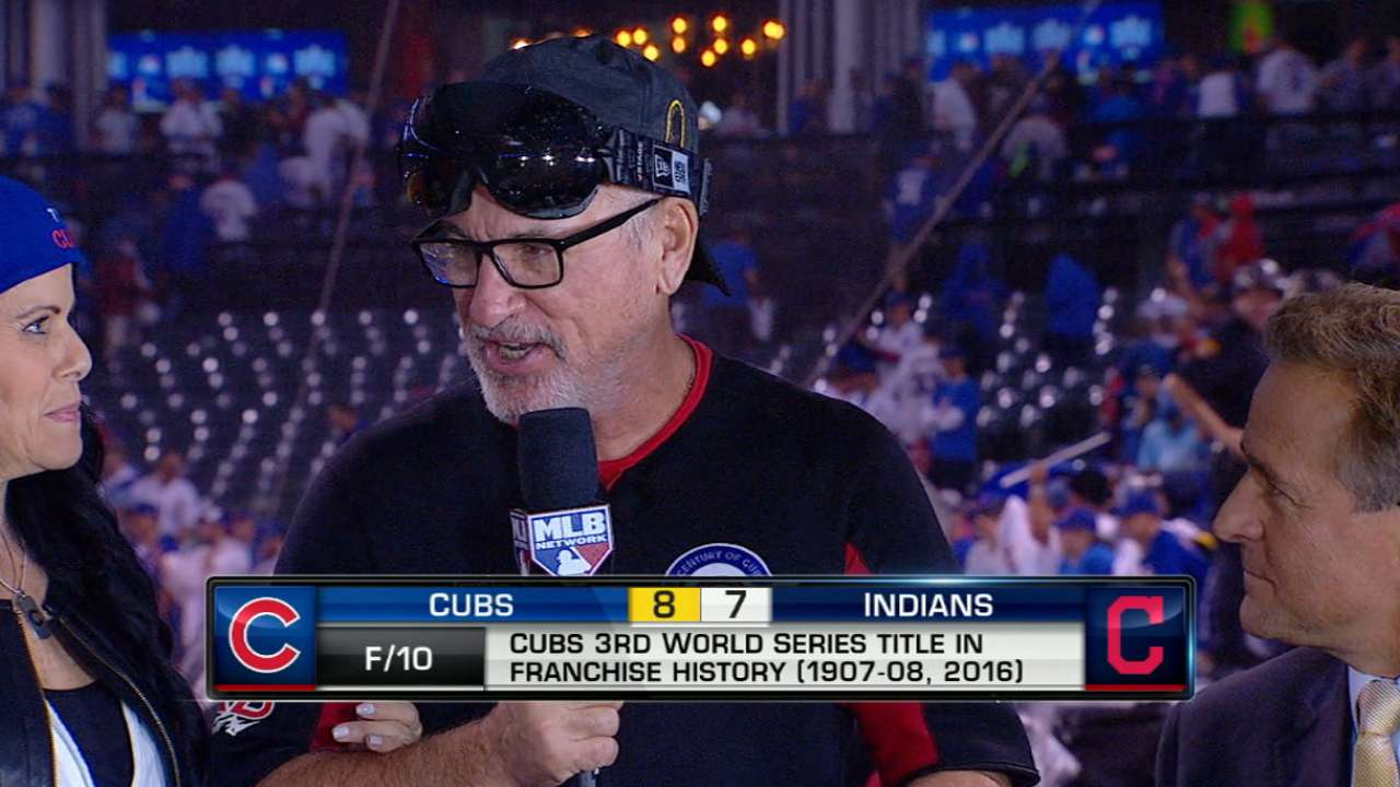 Maddon on beating expectations