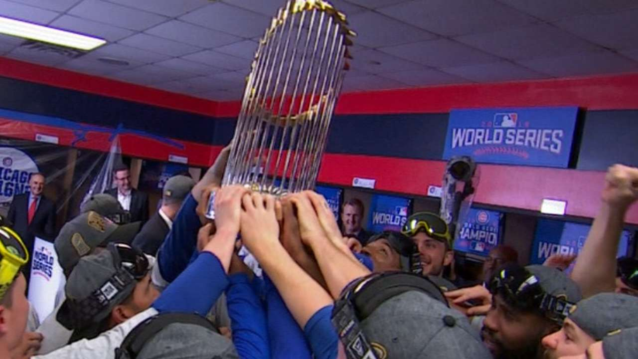 Cubs are heavy wait champions!