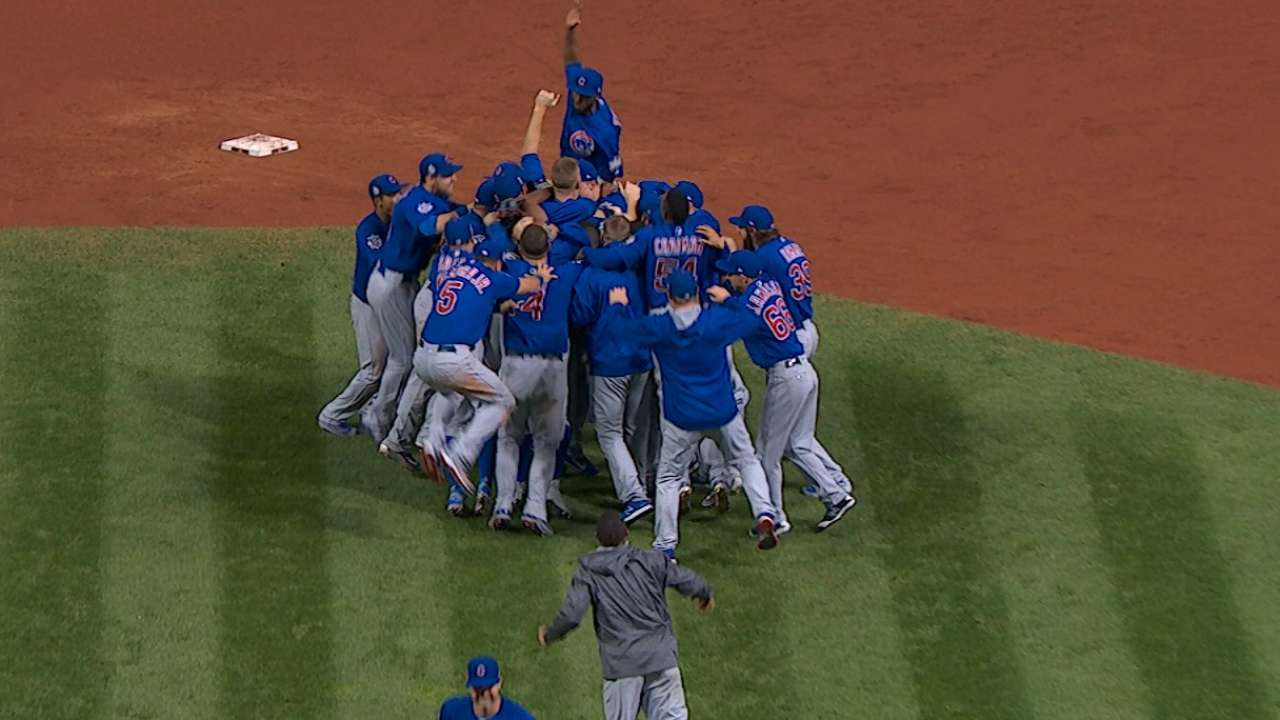 Cubs' resiliency leads to WS win