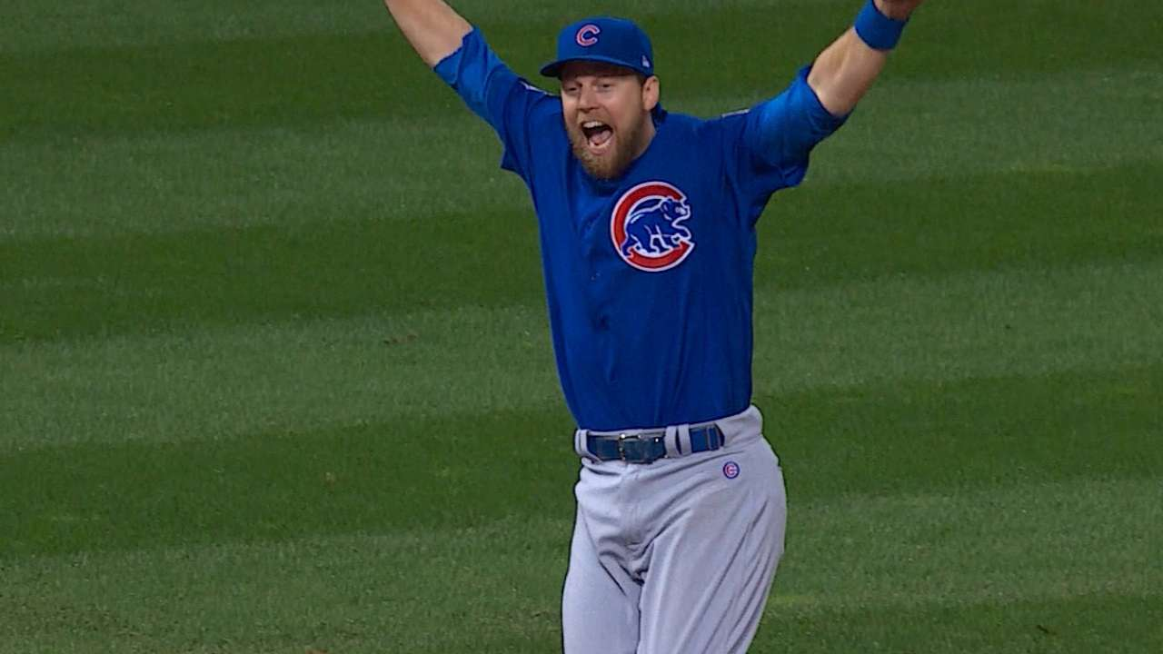 official photos 6da9c 13e05 Ben Zobrist named World Series MVP | MLB.com