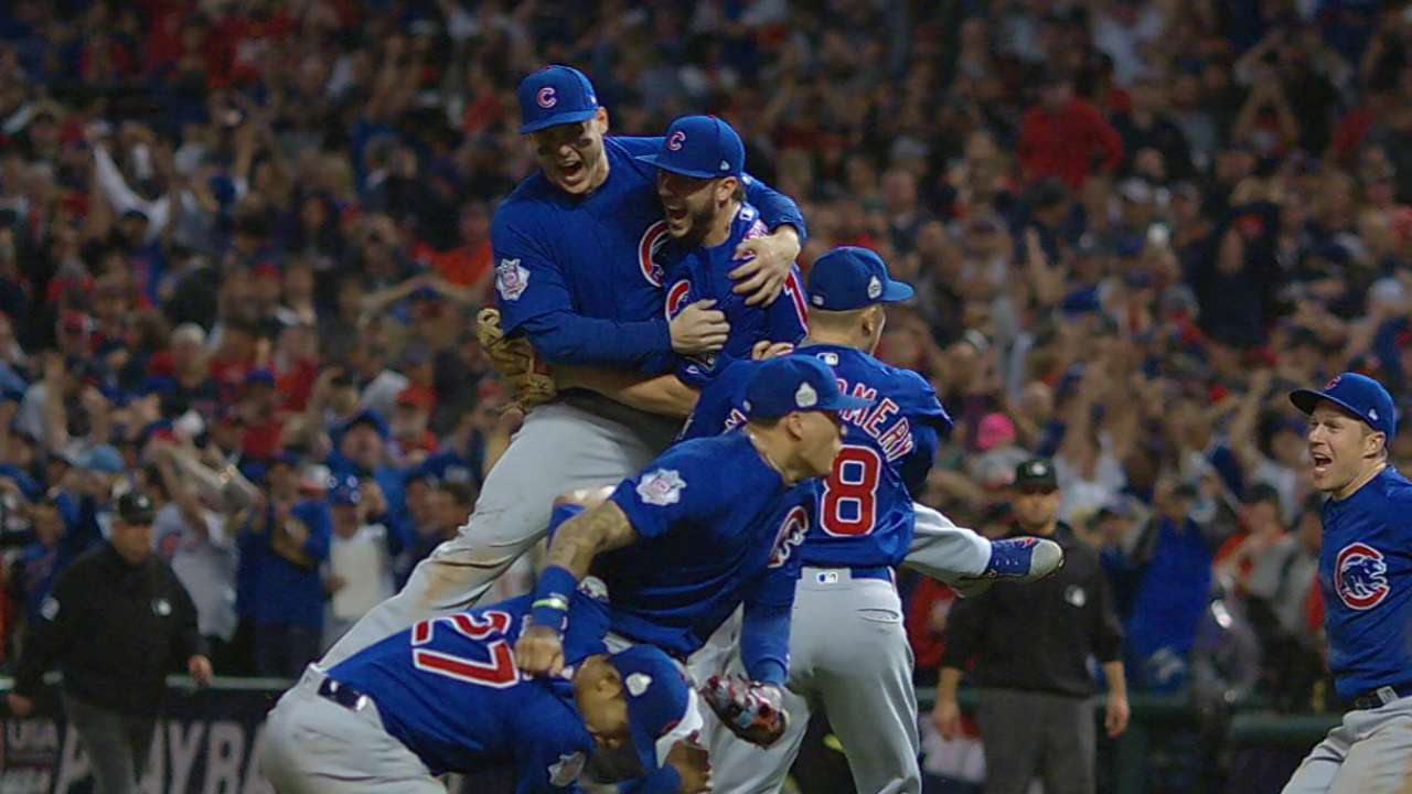 Cubs-Indians matches best World Series Game 7s