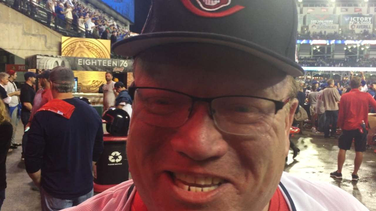 Tribe fans consoled by Cubs counterparts after Game 7