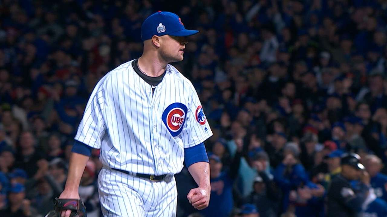 Best ML, Postseason: Lester