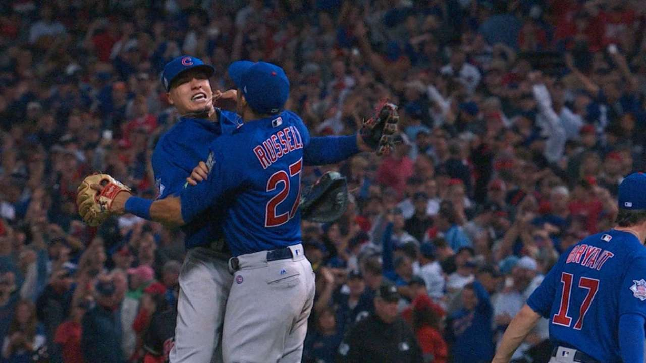 Cubs win WS in seven games