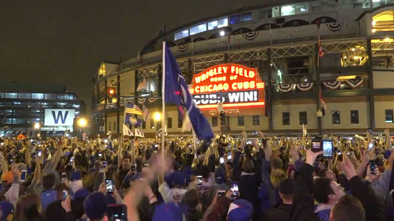 Title leaves Cubs fans on top of the World