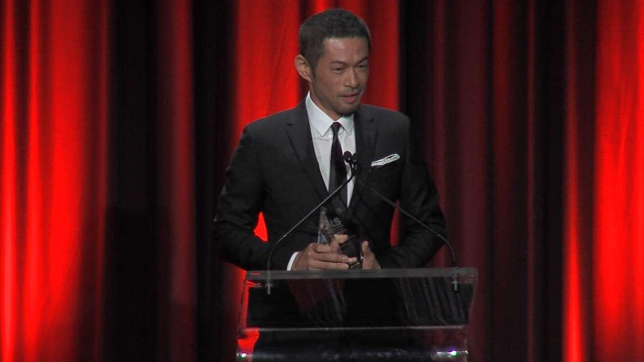 Ichiro's acceptance speech