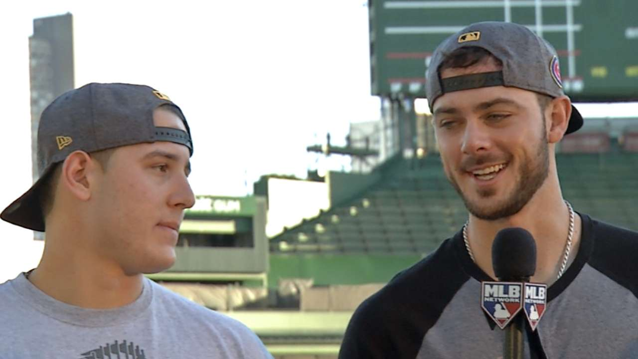 Rizzo, Bryant preview parade