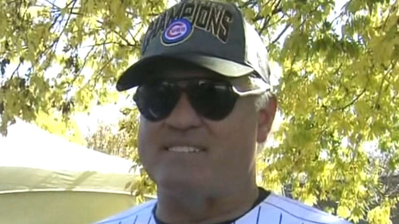 Former Cubs revel in World Series triumph