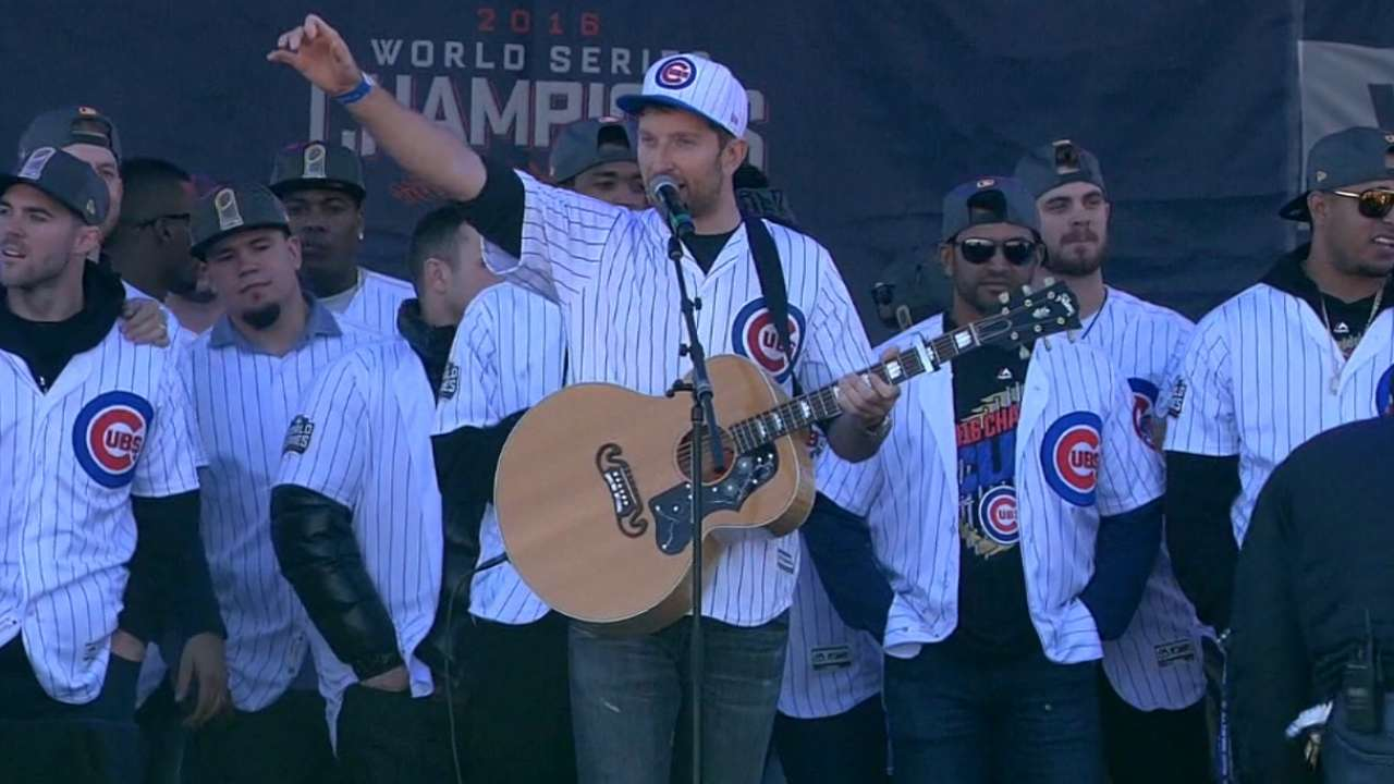 World Series parade in Chicago: IRL
