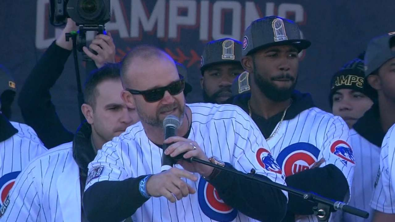 Ross reflects on Cubs' title, life in retirement
