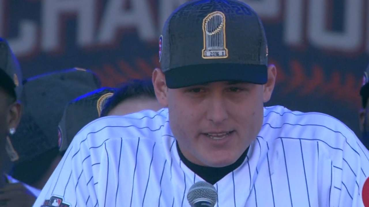 Reflecting on title, Rizzo hungry for another