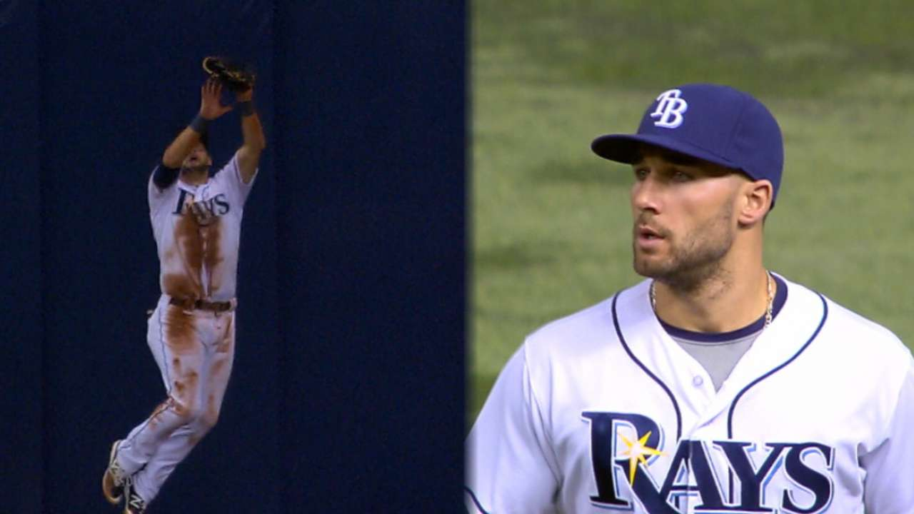 Despite missing time, Kiermaier could snag 2nd GG