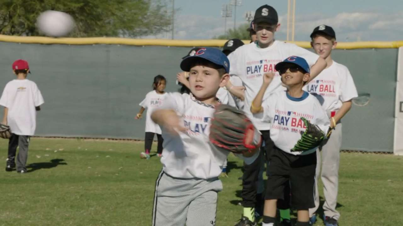 Play Ball event helps grow sport before Fall Stars Game