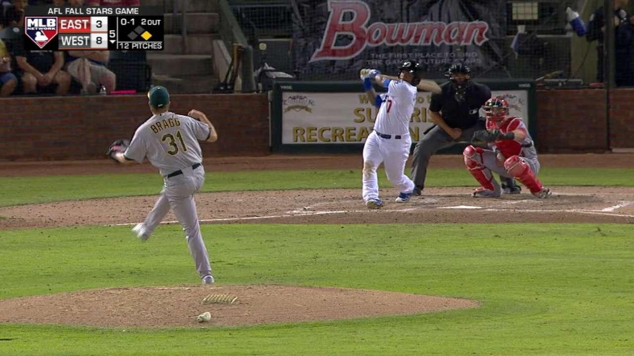 Calhoun's two-run homer