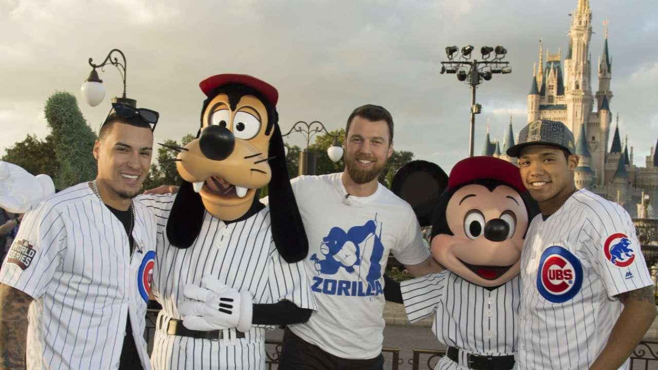 Cubs visit Walt Disney World